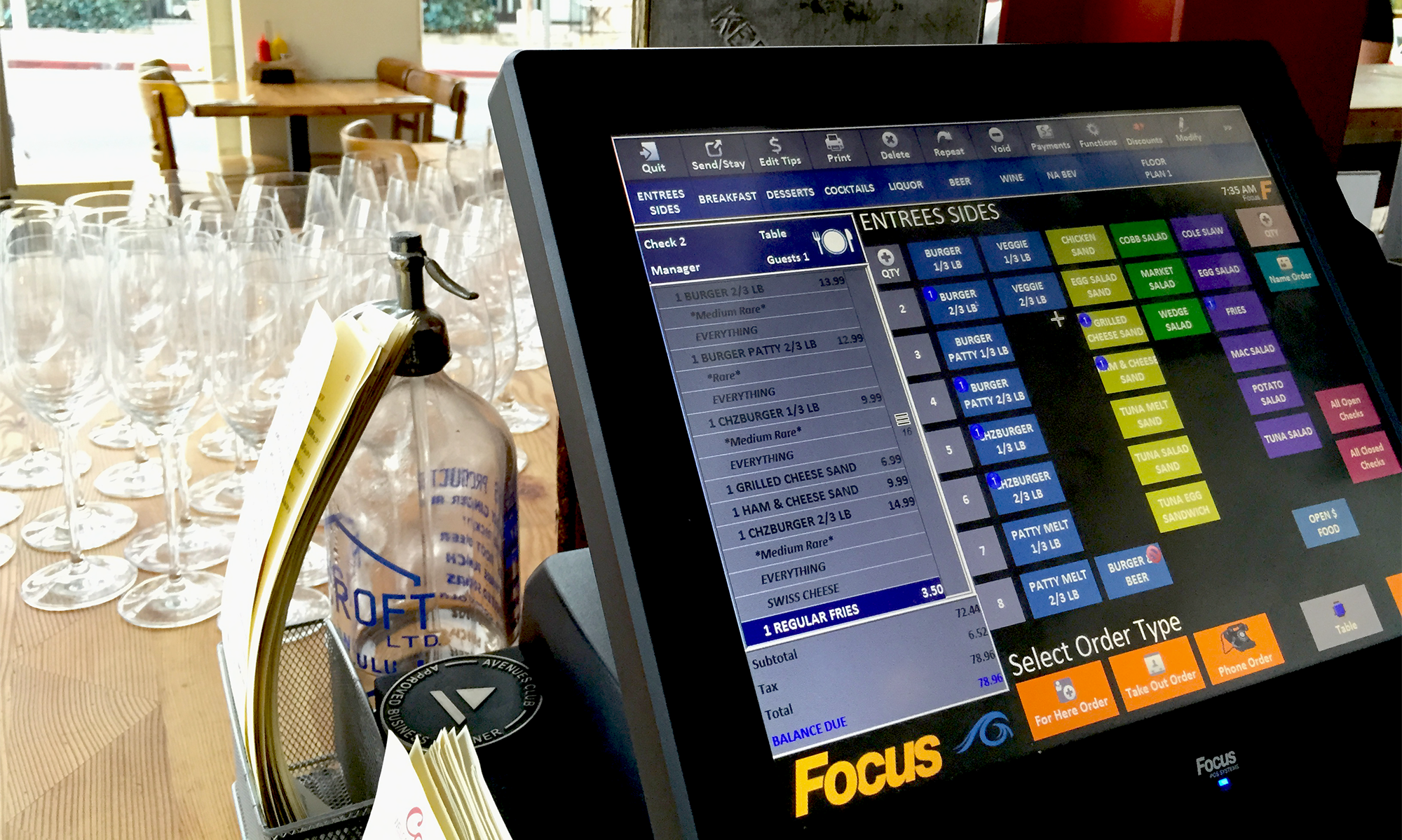 Focus CA | Restaurant Point of Sale And Management Software