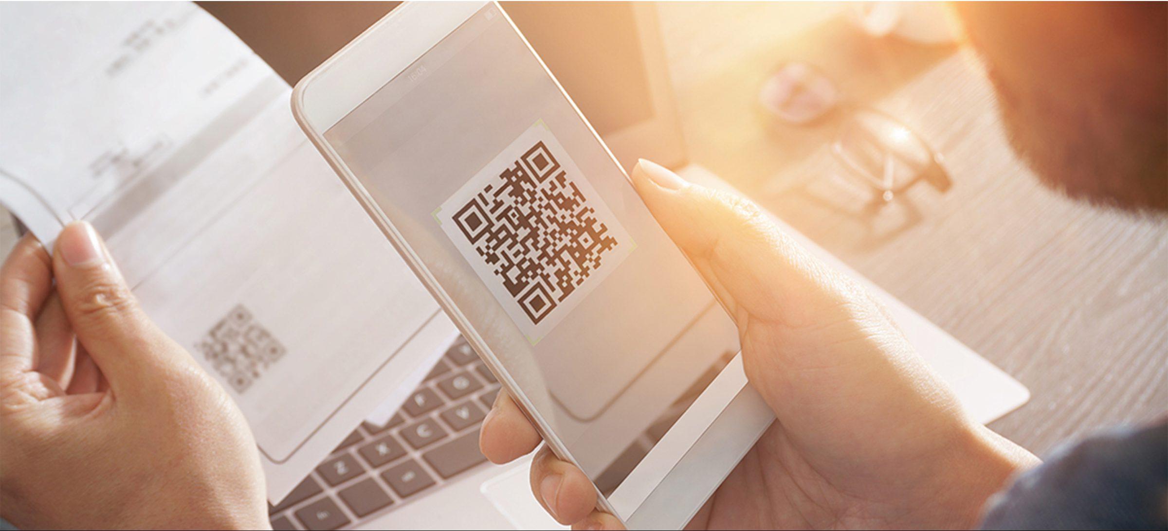 Pay checks via a QR Code with Focus MobilePay